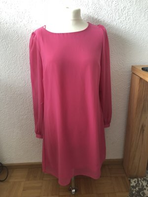 Primark Atmosphere Sommerkleid Chiffon Pink süß Gr 38