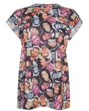 Primark Atmosphere T-Shirt Ryan Gosling-Print 38 40 M NEU!
