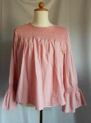 Primark Slip-over blouse abrikoos Katoen