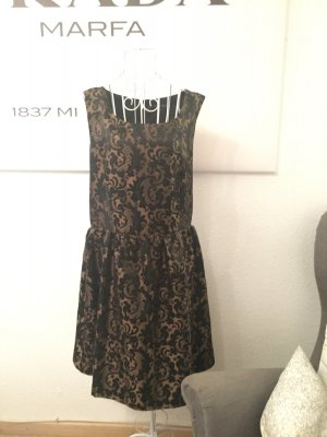 Primark Kleid, atmosphere kleid, barock, Gold, schwarz,cut out
