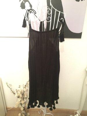 Primark Kleid, m, schwarz, Quasten, Sommerkleid, Strandkleid , Hippie, Festival