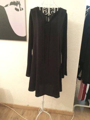 Primark Kleid schwarz, Basic Kleid, leichtes Kleid