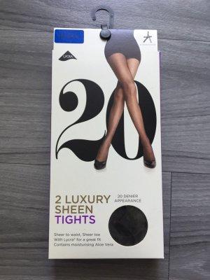 Primark Luxury Sheen Tights S black NEU