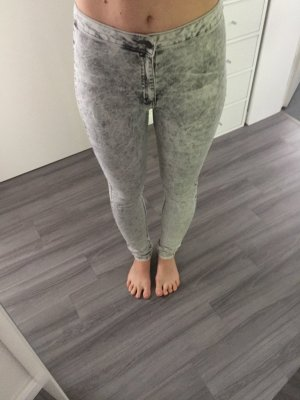 Primark melierte high-waist Jeans Jeggins 36