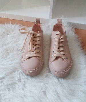 Primark nudefarbene Sneaker, Größe 36