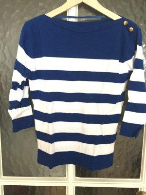 Primark Pullover blau-weiß gestreift ungetragen