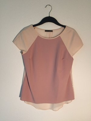 Primark rose Shirt, hinten transparent 38