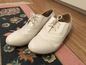 Primark Schuhe Schnürschuhe weiß 40 neu