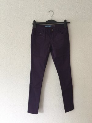 Primark Skinny Stretch-Jeans 34 lila