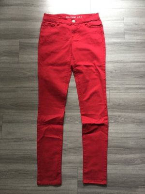 Primark Low Rise jeans neonrood