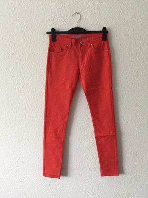 Primark Super Skinny Jeans Super-Soft Hose orange 34