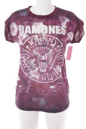 Primark T-Shirt Blumenmuster Casual-Look