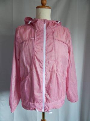 Primark, Workout, leichte Lauf- und Trainingsjacke,  Kapuze,rosa Gr. 44