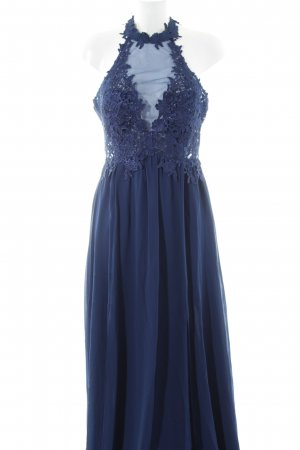 Princess Vestido de noche azul oscuro elegante