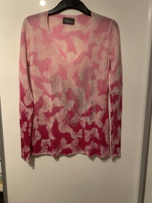 Princess goes Hollywood V-Neck Sweater pink-white cashmere