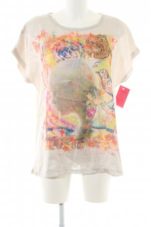 Princess goes Hollywood Dickey (for blouse) natural white abstract pattern