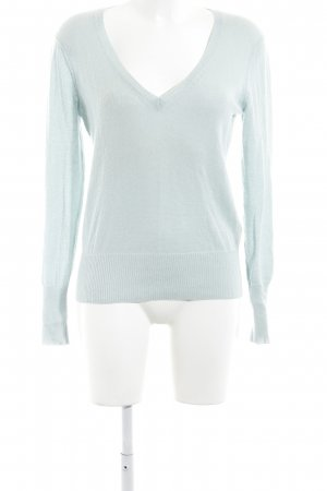 Princess goes Hollywood Cashmerepullover babyblau meliert Business-Look
