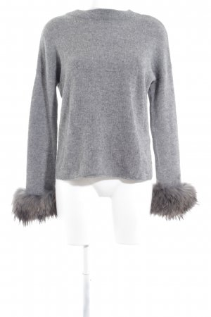 Princess goes Hollywood Cashmerepullover grau-dunkelgrau meliert Elegant