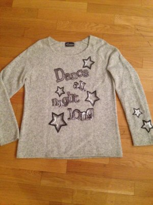Princess goes Hollywood Glitzerpullover mit Cashmere