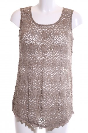 Princess goes Hollywood Crochet Top bronze-colored business style