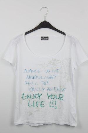 Princess goes Hollywood Shirt Gr. 38 weiß mit Aufdruck (18/7/025)