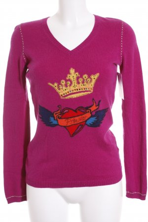 Princess goes Hollywood Strickpullover violett Casual-Look