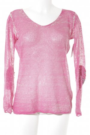 Princess goes Hollywood Camisa tejida magenta-rosa look casual