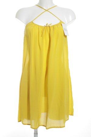 Princesse tam.tam Minikleid gelb Schleifen-Detail