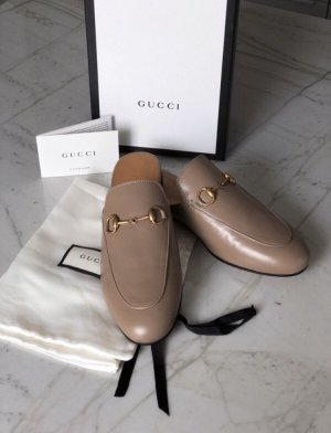 Gucci Slip-on Shoes brown-light brown