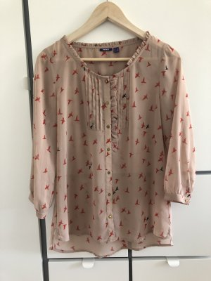 Mexx Blouse à volants multicolore