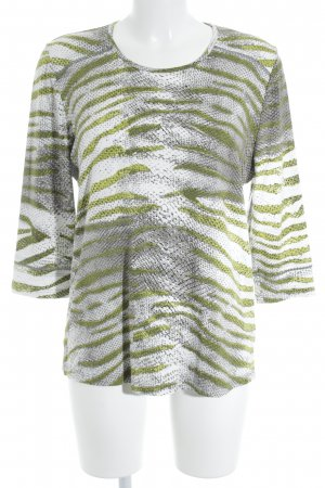 Print-Shirt Animalmuster Casual-Look