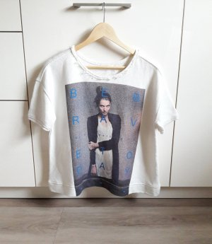 Print Shirt creme/bunt Gr. M