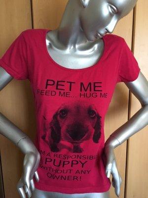 Print Shirt Gr. M pink