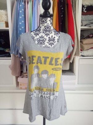 Print Shirt Grau Bandshirt Blogger Festival The S M 36 38 Beatles
