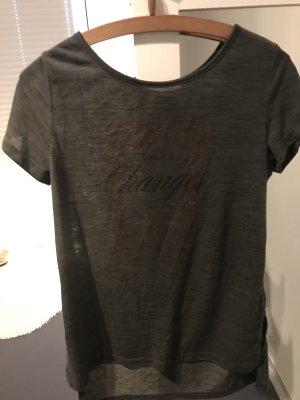Print-Shirt Khaki