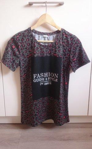 Print Shirt khaki/bunt Gr. S