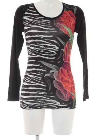 Print-Shirt mehrfarbig Casual-Look