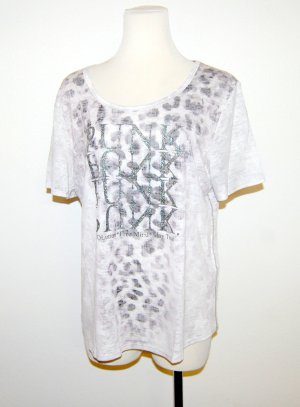 Print Shirt mit Glitzer von Monari Gr.40
