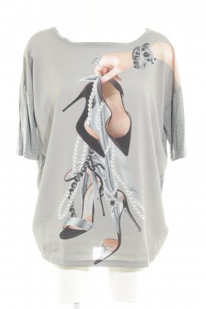 Camicia fantasia Stampa a tema stile casual