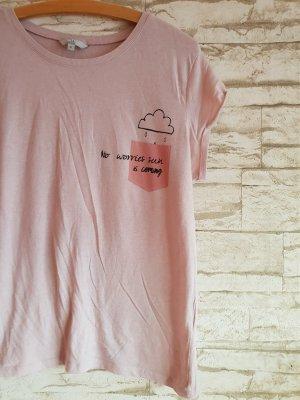 Print Shirt Rosa Süß