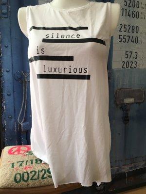 Print Shirt Silence