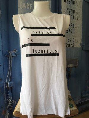 Even & Odd Print Shirt white-black