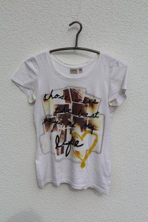 Print T-Shirt in weiß von Esprit