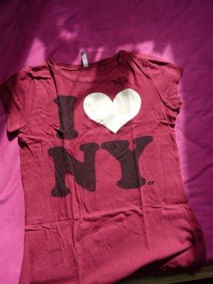 printshirt ny xs i love new york