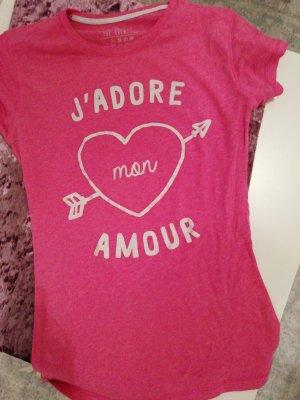 Printshirt pink