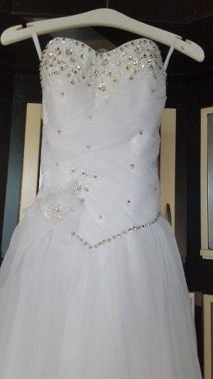 Prinzessinnen Brautkleid weiss 36/38