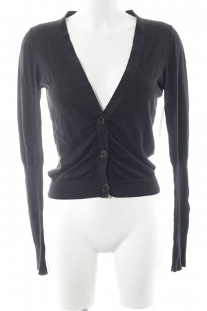 Private Industries Strick Cardigan schwarz Casual-Look
