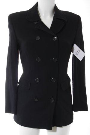 Private Label Long-Blazer schwarz Elegant
