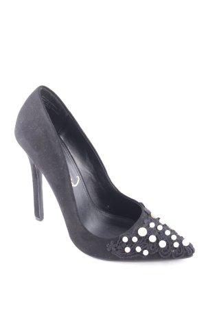 Privileged Spitz-Pumps schwarz Eleganz-Look