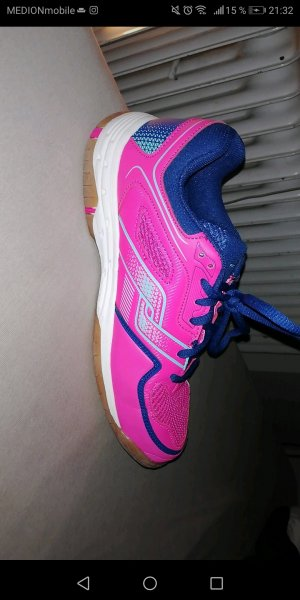& other stories Lace-Up Sneaker pink-blue